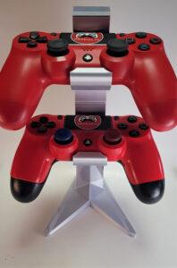 Suport montare 2 Controllere PS4 - 3D Print. Printeaza-ti proiectul 3d tau sau alege dintre proiectele special culese pentru tine.