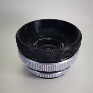 Rehousing of vintage lenses, Custom- Pentacon 29mm f2.8 3d print firstpower.ro
