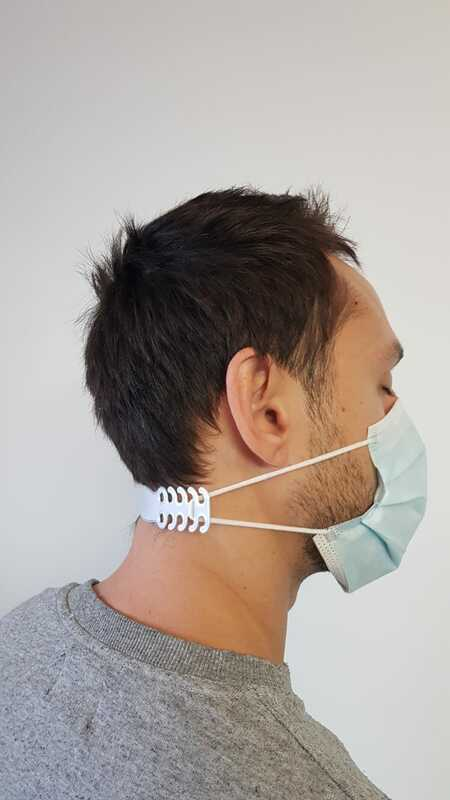 Protectie urechi masca - Printare 3D PLA FirstPower.ro Printare / Imprimare 3d pentru oricine Bucuresti