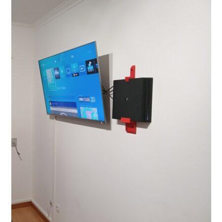 Suport perete PS4 PRO - 3D Print. Printeaza-ti proiectul 3d tau sau alege dintre proiectele special culese pentru tine.